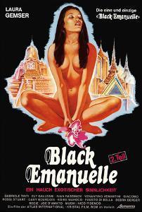 Black Emanuelle : Emanuelle Nera (1975) - Original Poster - vintagepornfun.com