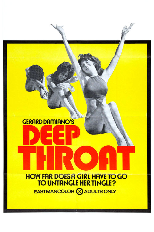 Deep Throat (1972) - original poster