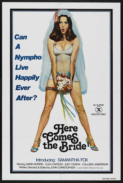 Here comes the Bride (1978) - original poster - vintagepornfun.com