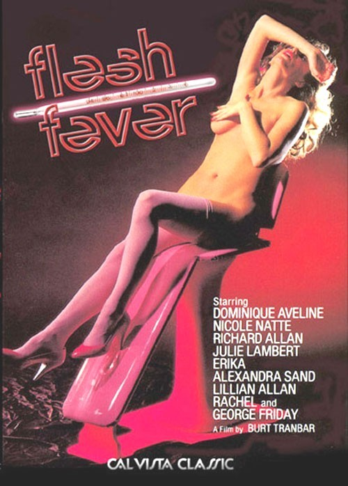 Flesh Fever (1979) - original poster - vintagepornfun.com