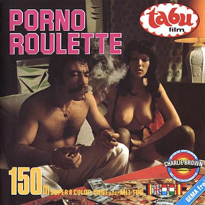 Porno Roulette (1977) - original poster - vintagepornfun.com