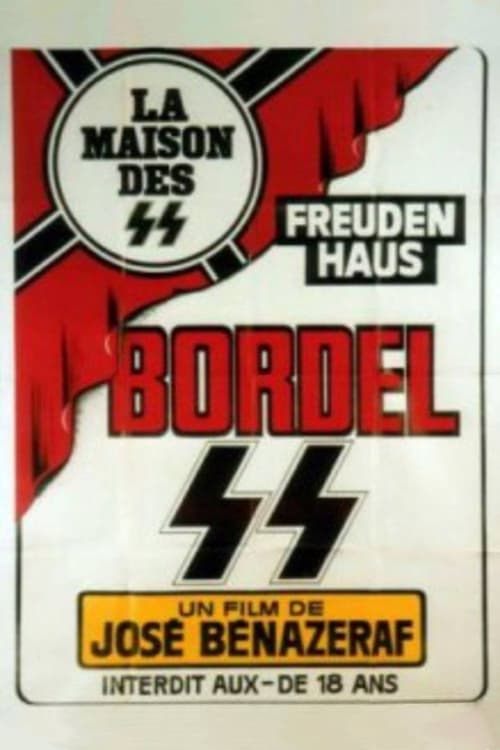 Bordel SS : A Brothel in Paris (1978) - original poster - vintagepornfun.com