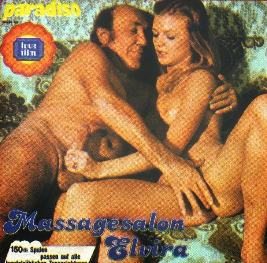Massagesalon Elvira (1978) - original poster - vintagepornfun.com