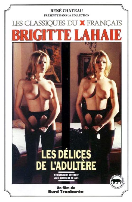 Les Délices de l'adultère : Parties Chaudes (1979) - original poster - vintagepornfun.com