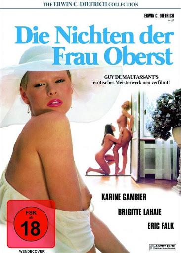 Die Nichten der Frau Oberst : Les Bourgeoises de L'amour (1980) - Original Poster - vintagepornfun.com