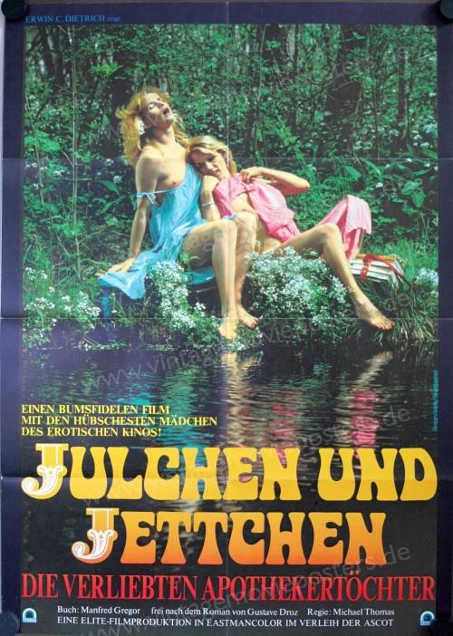 Julchen und Jettchen, die Verliebten Apothekerstochter (1982) - Original Poster - vintagepornfun.com