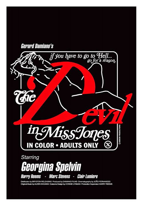 The Devil in Miss Jones (1973) - Original Poster
