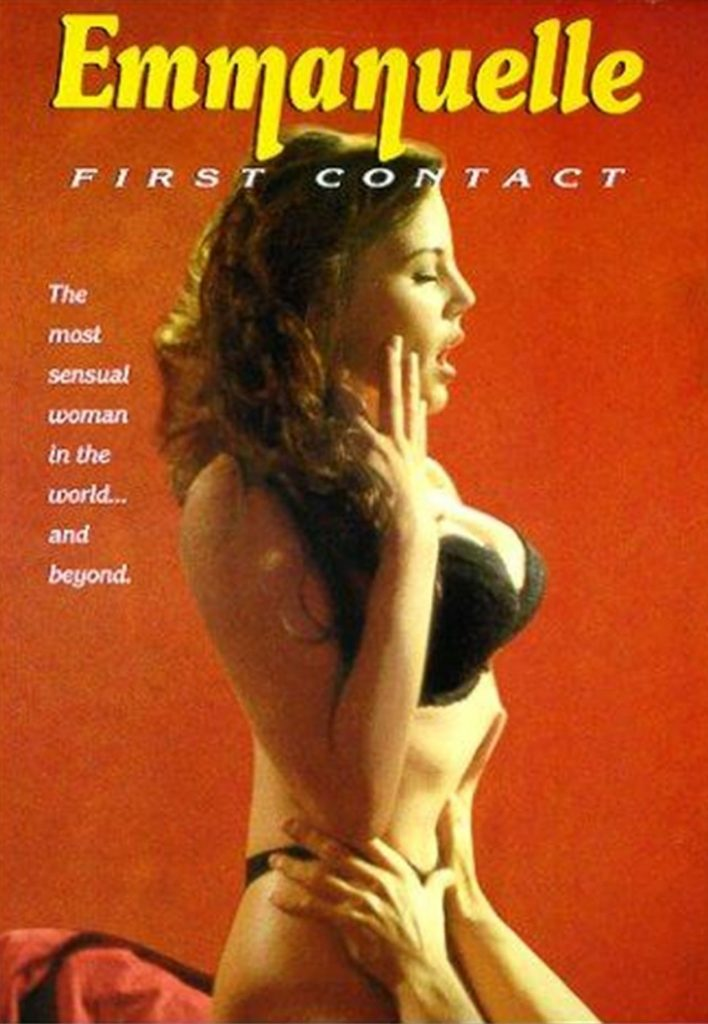 Emanuelle In Space - First Contact (1994) - original poster - vintagepornfun.com