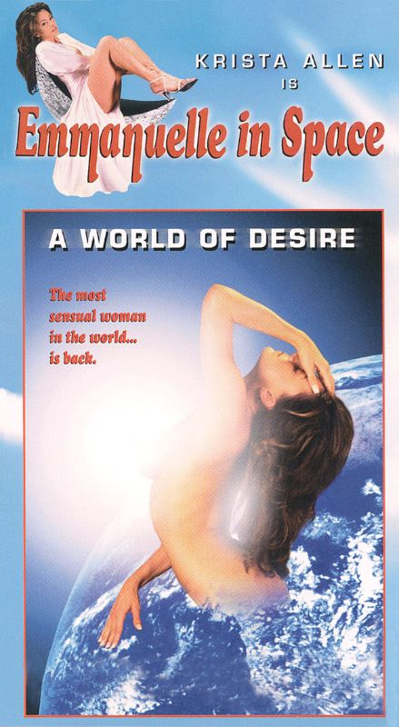 Emanuelle In Space - A World OF Desire (1994) - original postrer