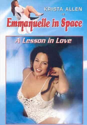 Emanuelle In Space - A Lesson In Love (1994) - original poster.