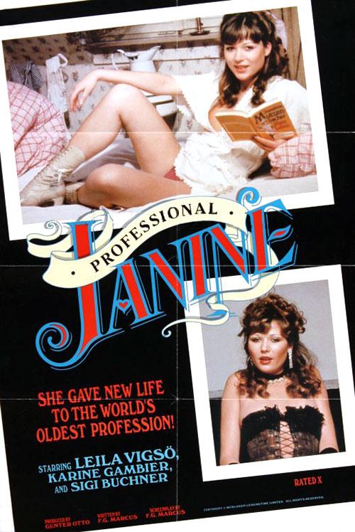 Josefine Mutzenbacher – Wie sie Wirklich war: 2. Teil : Professional Janine - original poster - vintagepornfun.com