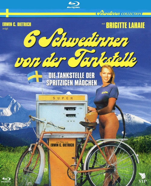 Sechs Schwedinnen von der Tankstelle : Six Swedes at a Pump (1980) - original poster - vintagepornfun.com