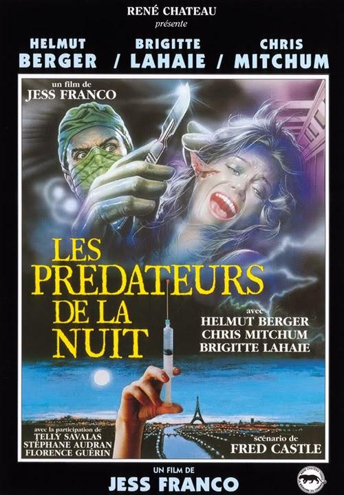 Les Prédateurs de la Nuit : Faceless (1987) - original poster - vintagepornfun.com