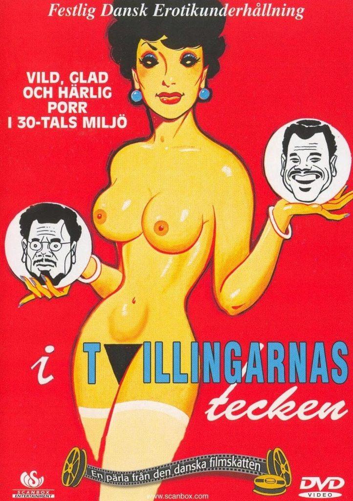 I Tvillingernes Tegn (1975) - original poster - vintagepornfun.com