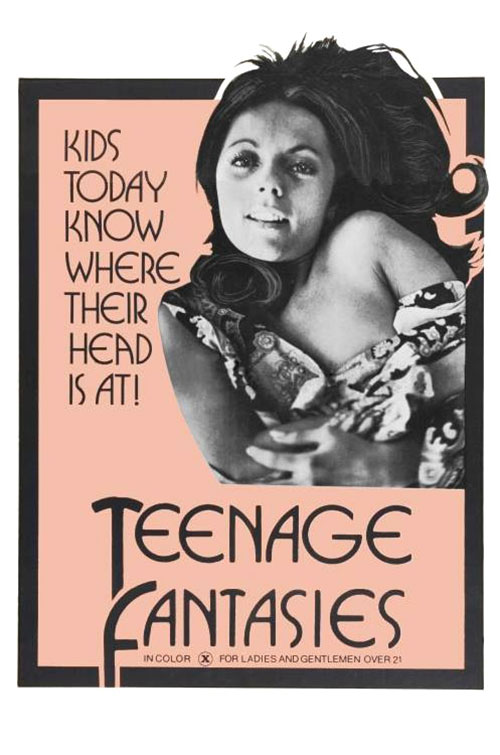 Teenage Fantasies Part 1 : Rene Bond's Sex Fantasies (1971) - Original Poster