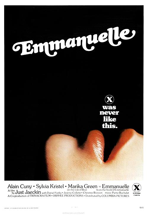 Emmanuelle (1974) - Original Poster - vintagepornfun.com