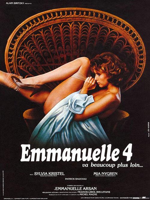 Emmanuelle IV (1984) - Original Poster - vintagepornfun.com
