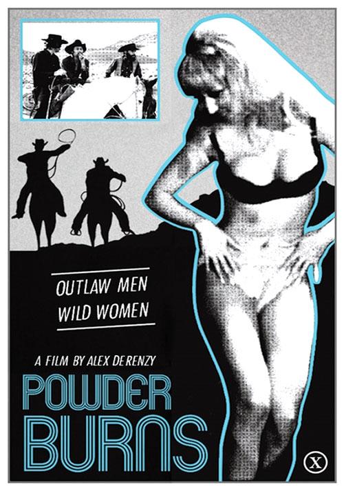 Powder Burns (1971) - Original Poster - vintagepornfun.com