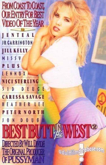 Best Butt in the West Part 2 (1995) - Original Poster - vintagepornfun.com