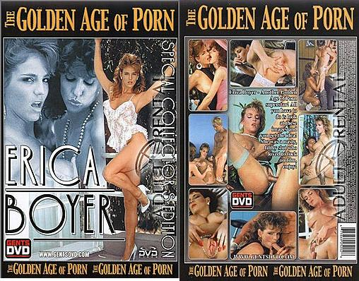 The Golden Age of Porn Series – Erica Boyer - Original Poster - vintagepornfun.com