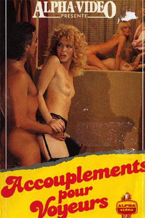 Accouplements pour voyeurs : Peep Show Girls (1979) - Original Poster - vintagepornfun.com