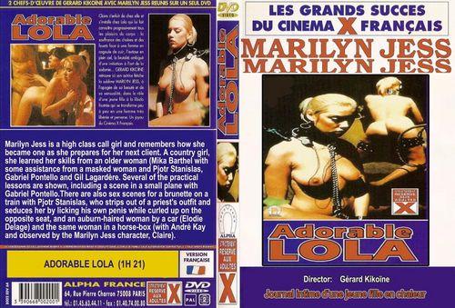 Journal Intime d'une Jeune Fille en Chaleur : Adorable Lola (1981) - Original Poster - vintagepornfun.com