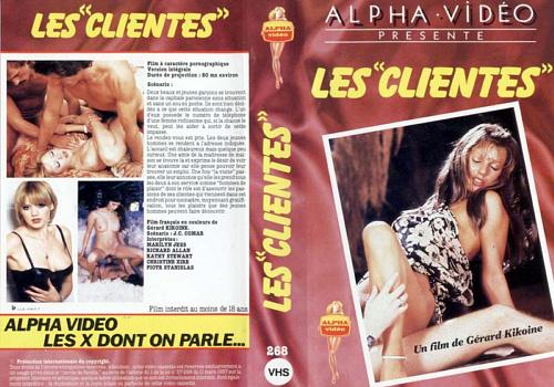 Bordel pour femmes : Les Clientes (1982) - Original Poster - vintagepornfun.com
