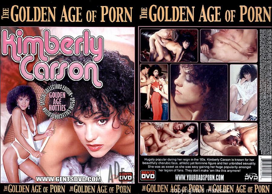 The Golden Age of Porn Series – Kimberly Carson - Original Poster - vintagepornfun.com