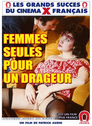 Femmes Seules Pour Un Dragueur (1982) - Original Poster - vintagepornfun.com
