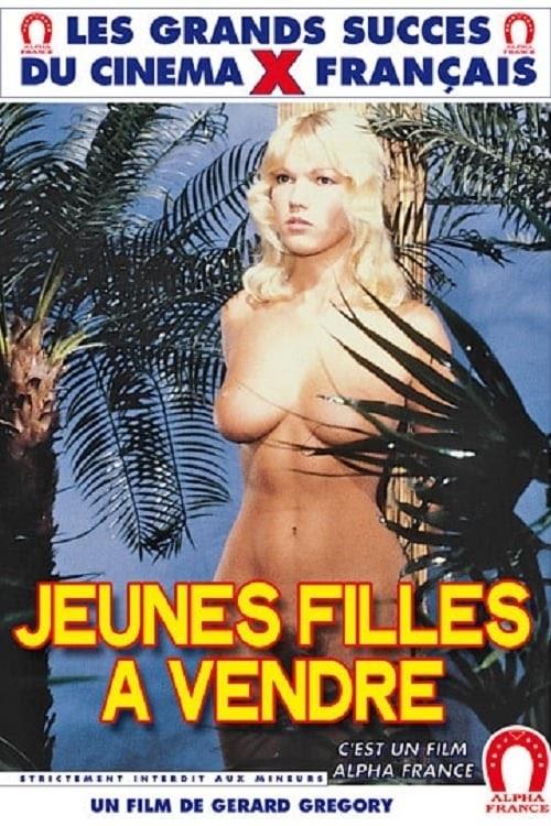 Jeunes Filles à Vendre (1982) - Original Poster - vintagepornfun.com