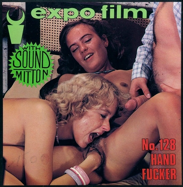 Color Climax – Expo Film No. 128 – Hand Fucker - Original Poster - vintagepornfun.com