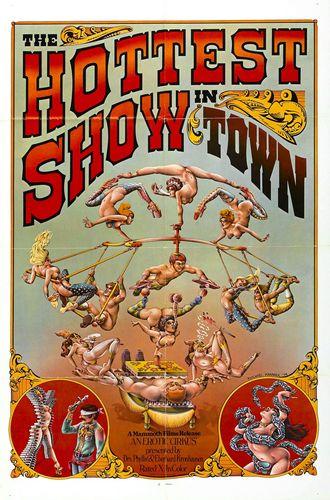 La Foire aux Sexes : The Hottest Show in Town (1973) - Original Poster - vintagepornfun.com