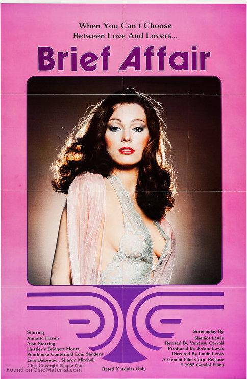 Brief Affair (1982) - Original Poster - vintagepornfun.com