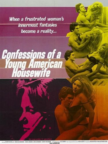 Confessions of a Young American Housewife (1974) - Original Poster - vintagepornfun.com
