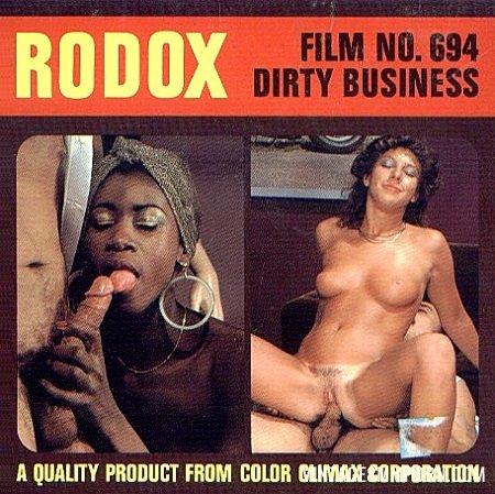 Color Climax – Rodox Film 694 - Dirty Business - Original Poster - vintagepornfun.com