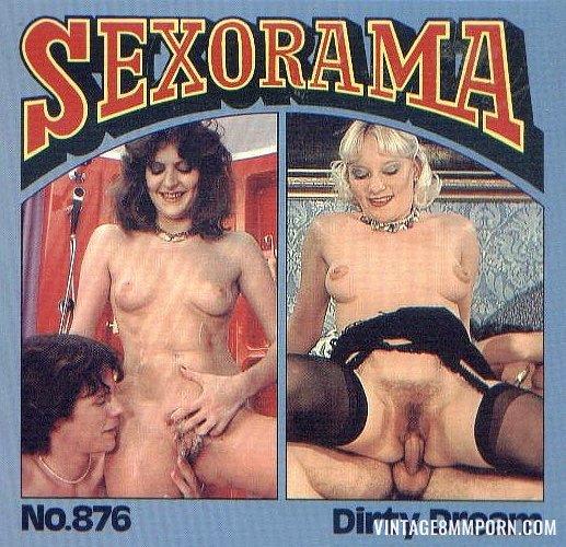 Color Climax – Sexorama Film No. 876 – Dirty Dream - Original Poster - vintagepornfun.com