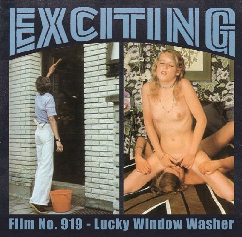 Color Climax – Exciting Film 919 – Lucky Window Washer - Original Poster - vintagepornfun.com