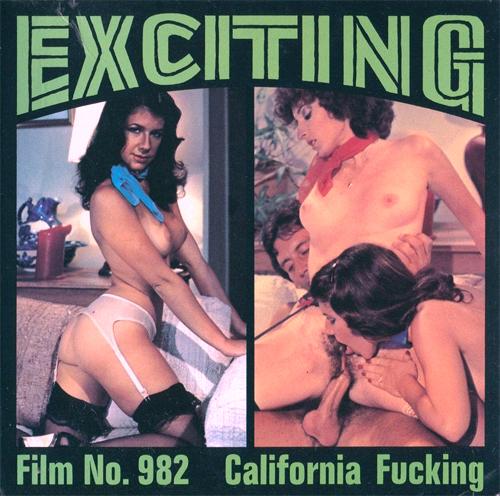 Color Climax – Exciting Film No. 982 – California Fucking - Original Poster - vintagepornfun.com