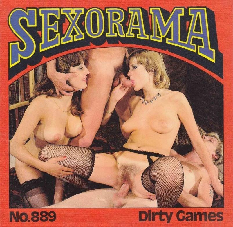 Color Climax – Sexorama Film No. 889 – Dirty Games - Original Poster - vintagepornfun.com