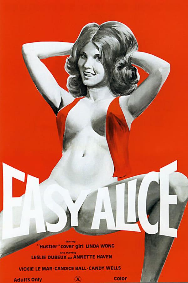 Easy Alice (1976) - Original Poster - vintagepornfun.com