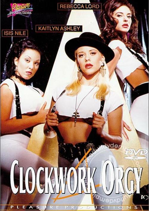 A Clockwork Orgy (1995) - Original Poster - vintagepornfun.com