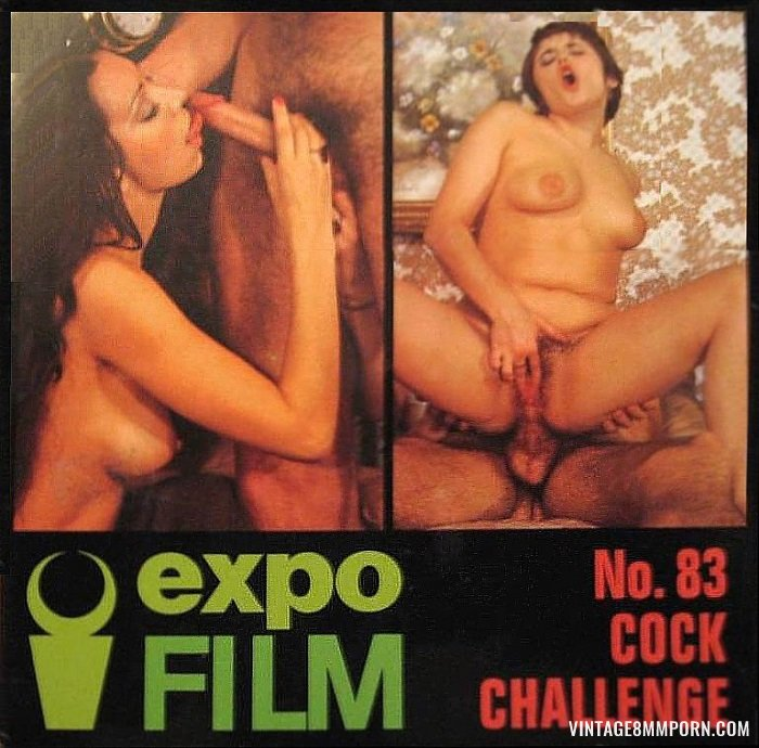 Color Climax: Expo Film 83: Cock Challenge - Original Poster - vintagepornfun.com