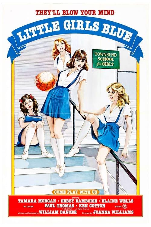 Little Girls Blue (1978) - Original Poster - vintagepornfun.com