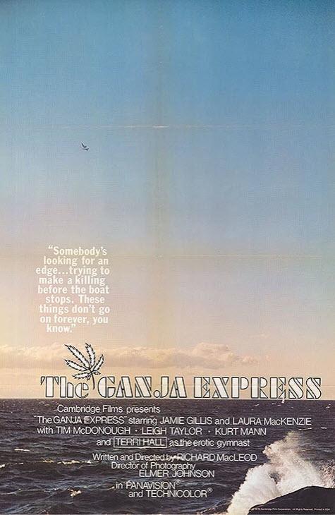 The Ganja Express (1978) - Original Poster - vintagepornfun.com