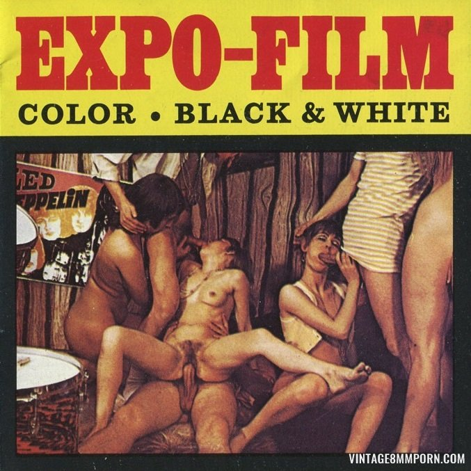 Color Climax: Expo Film 26: Young Love Game - Original Poster - vintagepornfun.com