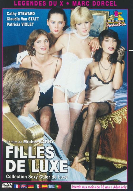 Filles De Luxe: Luxury Girls (1981) - Original Poster - vintagepornfun.com